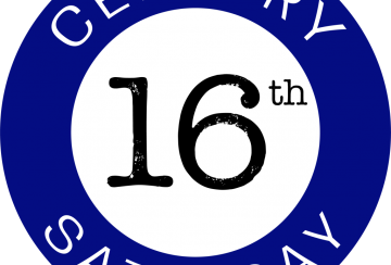 16 Century Saturday logo