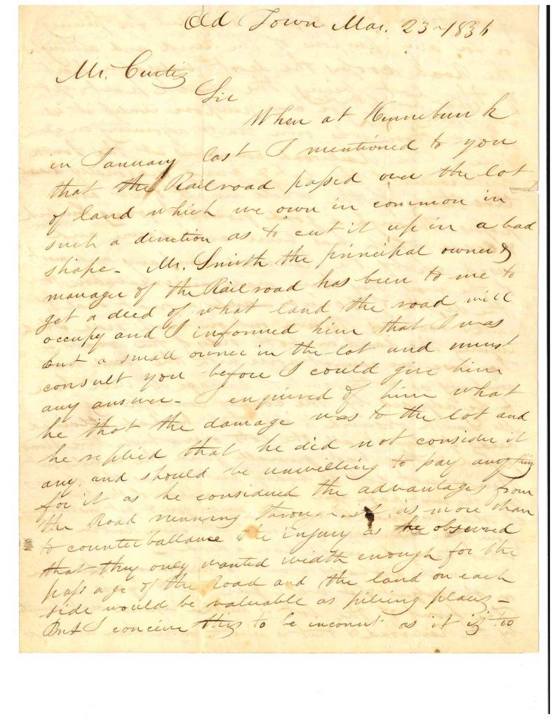 Archives Transcription Gallery