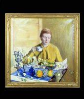 Late Breakfast, oil on canvas, 1938